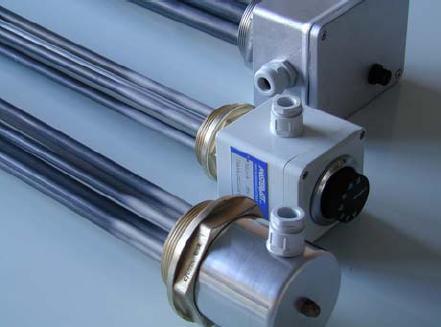 Elektrische verwarmingselementen voor vloeistoffen